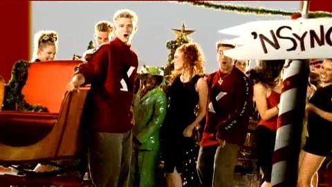 nsync merry christmas happy holidays lyrics video