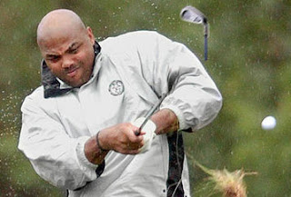 Charles barkley has become somewhat of a golfing icon with his