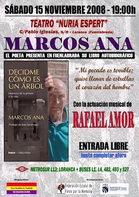 Marcos Ana en Fuenlabrada