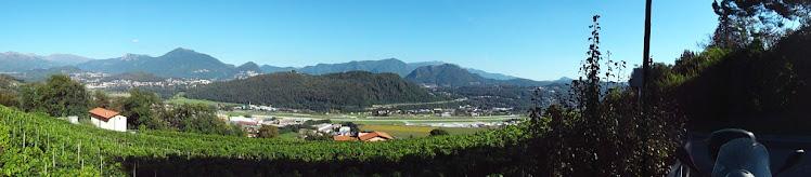 Paesaggio della Valle del Vedeggio