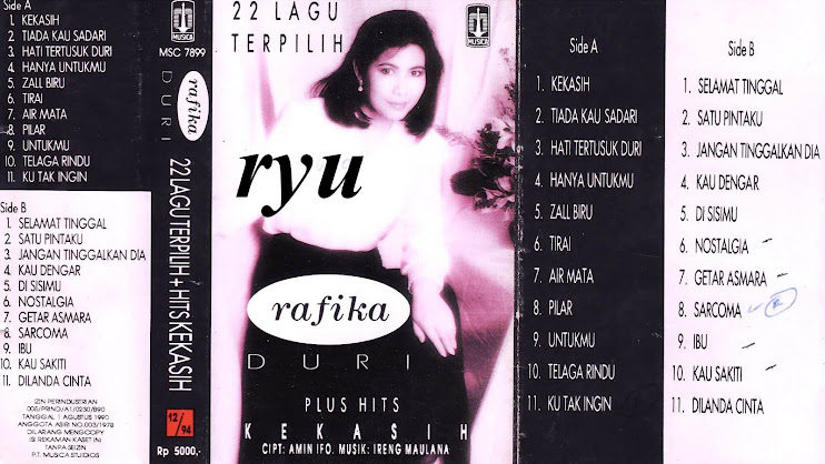 Rafika duri ( album 22 lagu terpilih )