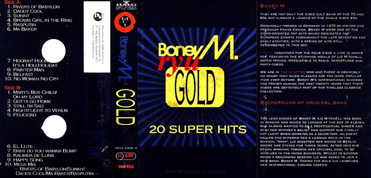 Boney m ( album 20 super hit's vol.I )