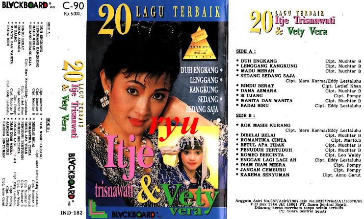 20 lagu terbaik Itje trisnawati dan Vety vera