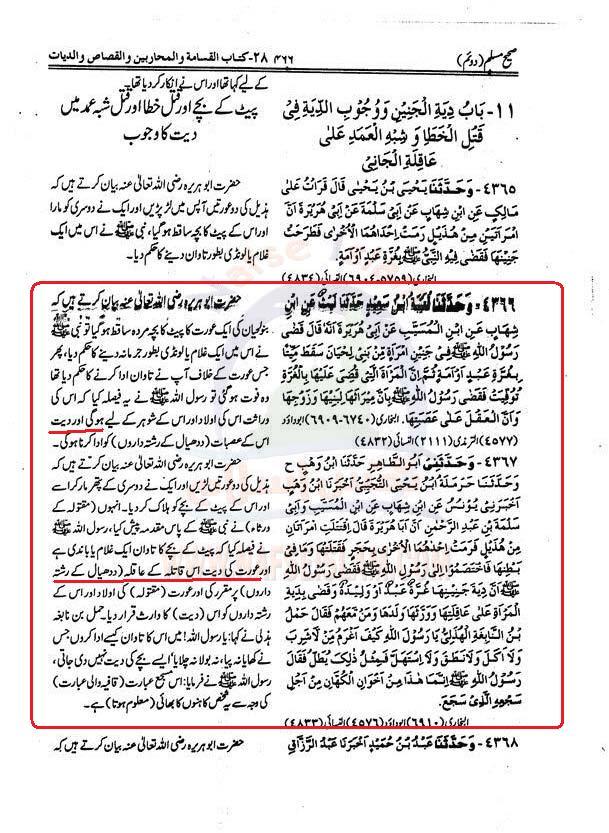 Aorat  ki  Diyat Muslim+1