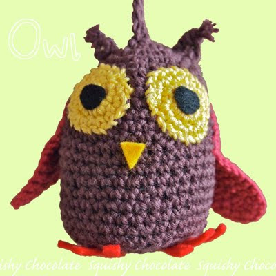 christmas decorations diy: owl free crochet patterns