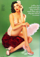 GQ 1950s Pin-up Princess for July 09