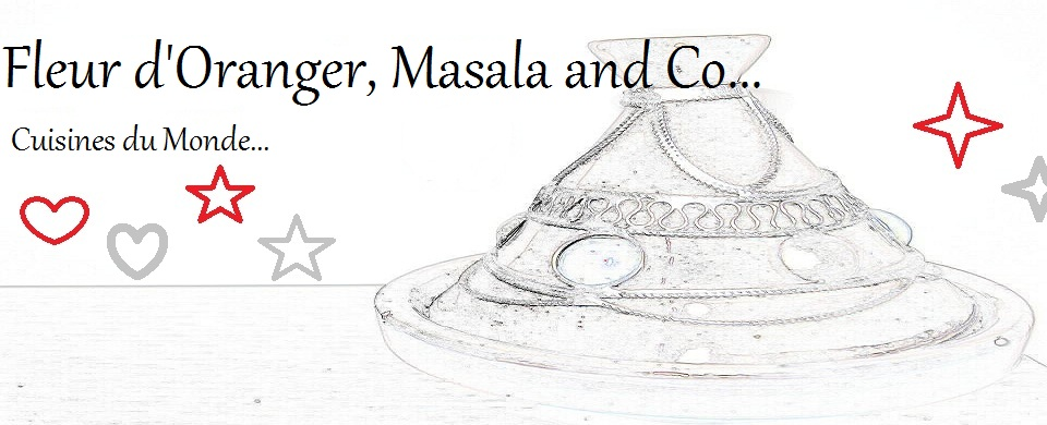 Fleur d&#39;oranger, Masala &amp; Co..