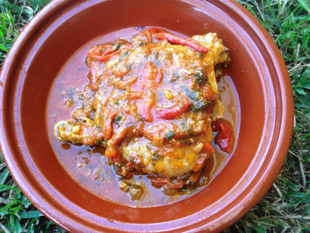 Fleur d 39 oranger masala co poulet mchermel aux for Abderrahim bargach cuisine