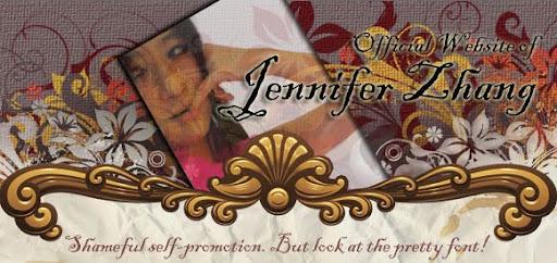 Official Website of Jennifer Zhang