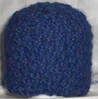 Knit alpaca preemie hat 1