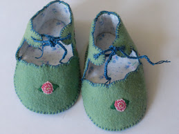 Rosy Toes Baby Booties