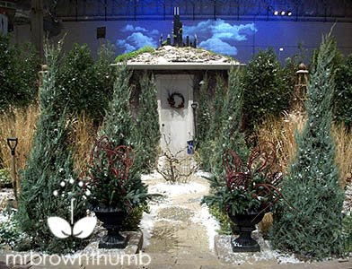Winter house, Chicago Flower &amp; Garden show