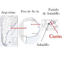 Ubicacion en Argentina