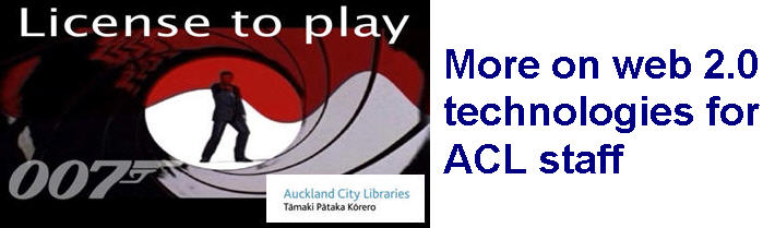 License to play - more on web 2.0 technologies