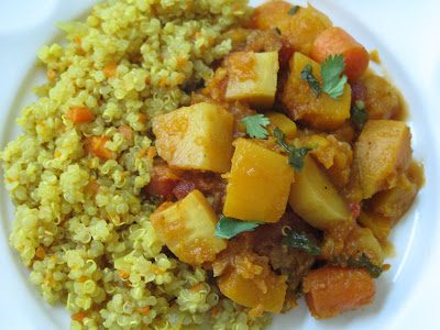 Rose's Recipes: Quinoa with Moroccan Winter Squash and ...