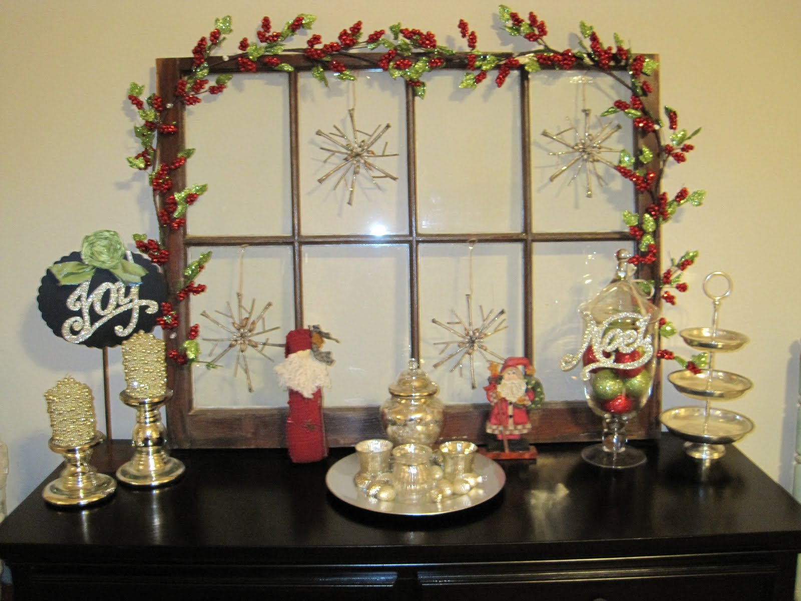 Christmas Buffet Table Decorating Photograph Making A Hous