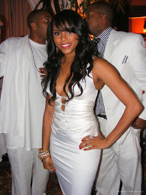 LeToya Luckett, Rockets party