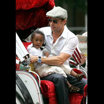 Brad Pitt, Zahara