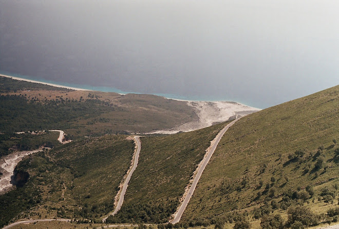 ROAD TO SOUTH OF ALBANIA