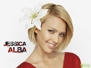Beautiful, cute, pictures and wall papers of Jessica Alba