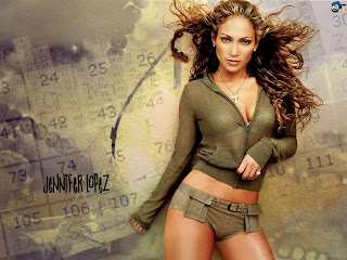 Free cute and beautiful Jennifer Lopez wallpapers - hollywood stars images, pictures