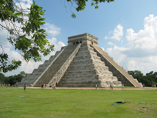 Natural Mexico Chichen Itza wallpapers