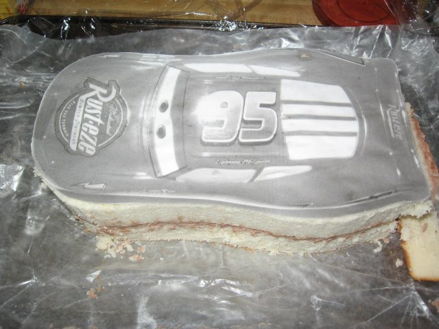 Creative Confections by Susan Lightning McQueen 3D Cake