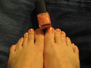 nars orgasm nail polish
