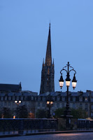 Bordeaux a Pont de pierre-ről, azaz a kőhídról