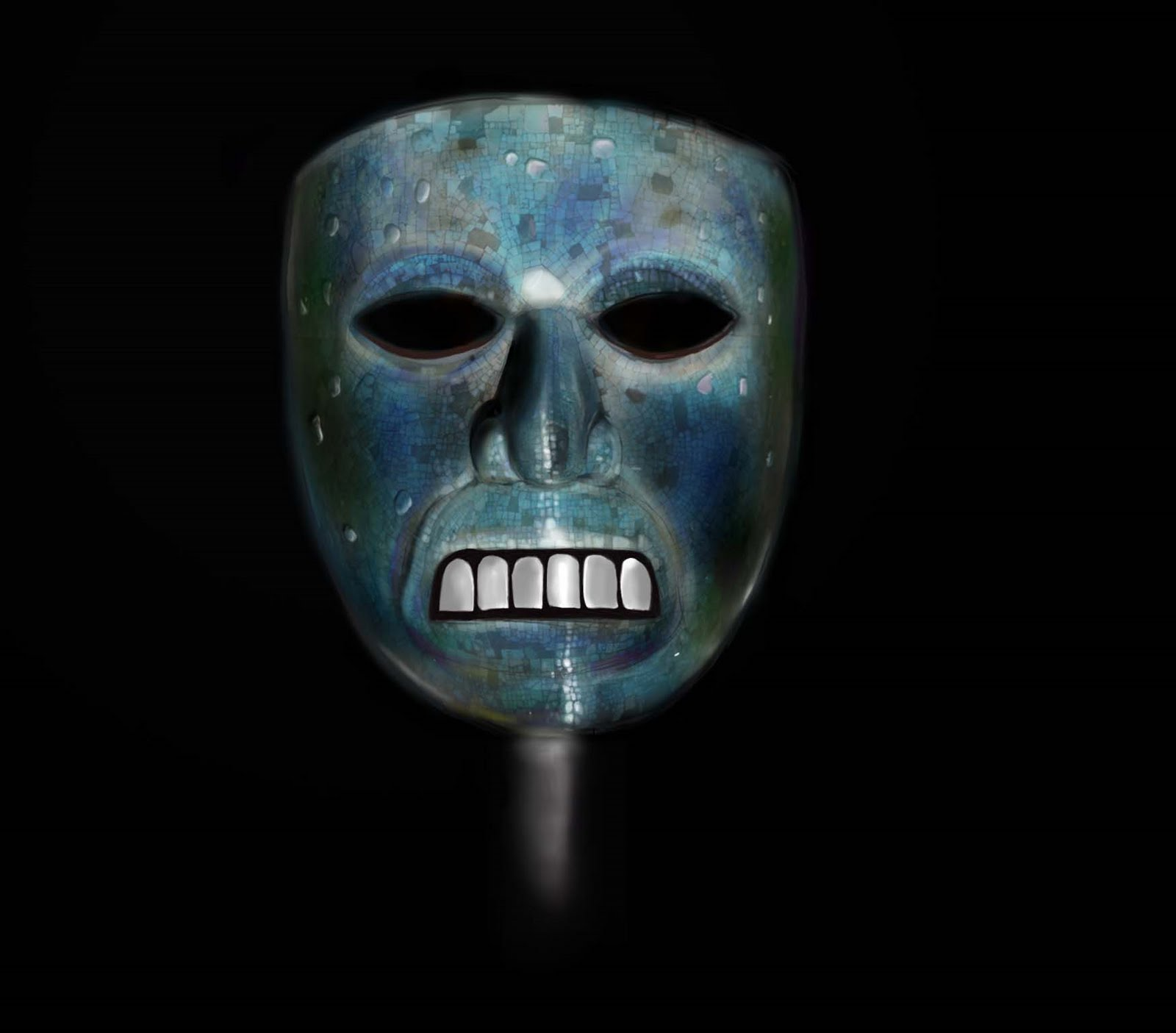 original mask it also gave the mask a mystical quality