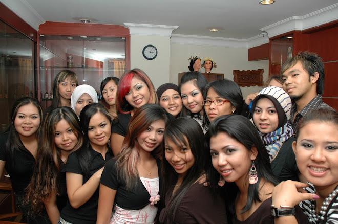 kenangan pelajar-pelajar Diploma Kecantikan Antarabangsa 2005