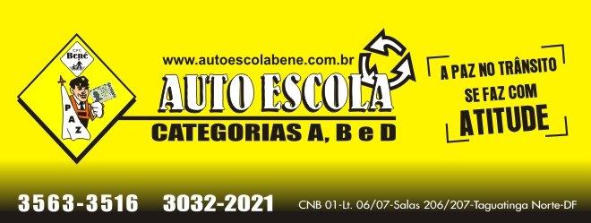 AUTO ESCOLA BENE -  FONE: 3563-3516.