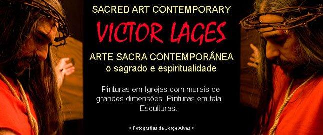 Victor Lages - Arte sacra contemporânea - O Sagrado e Espiritualidade