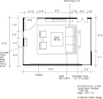 free floor plans with furniture placement