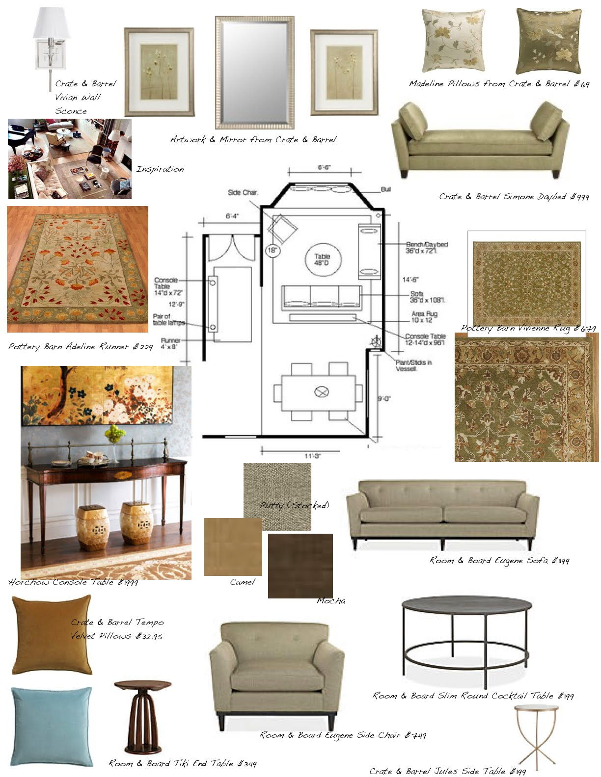 Creative Interior Design Boards I Offer A Complete Interior