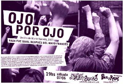 """Proyección en Centro Cultural """"El gran sueño"""" en La Plata"""