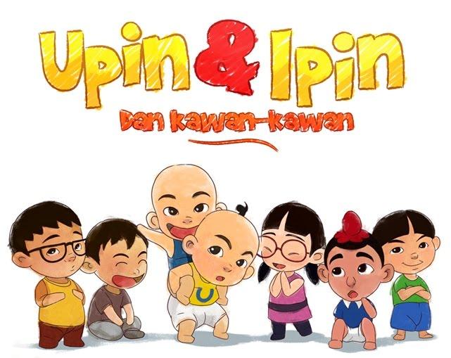 Watak Kartun Animasi Paling Popular.