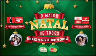 Promoção o maior natal de todos - 720 TVs LCD