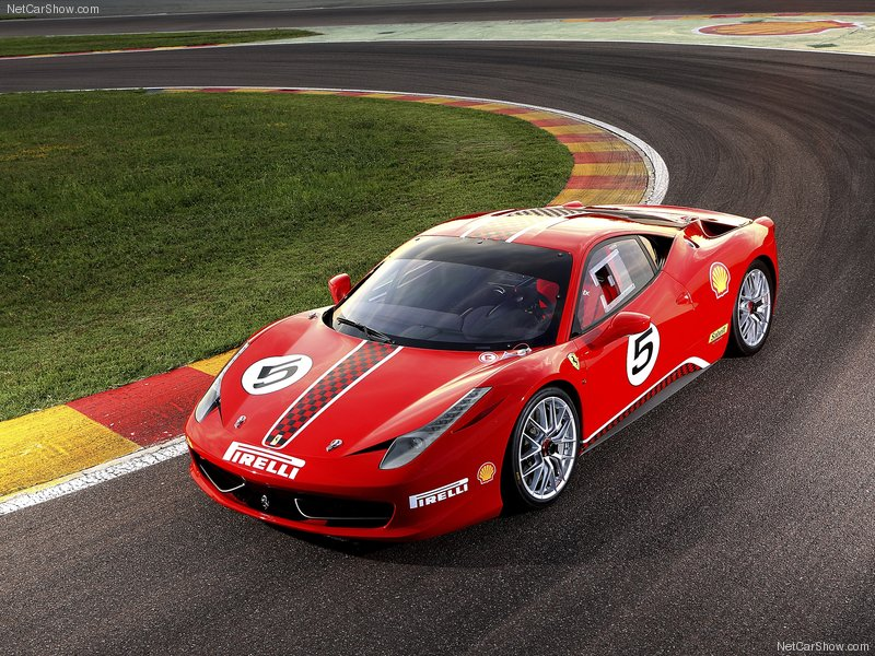 The new Ferrari 458 Challenge