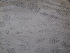 in memory of Randi Passoff , Carol Tipton, Rhonda Gurley and too many others
