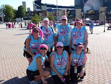 my team at the finish