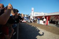 Kimi Räikkönen leaves pit