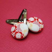 Japanese Blossom snap clips