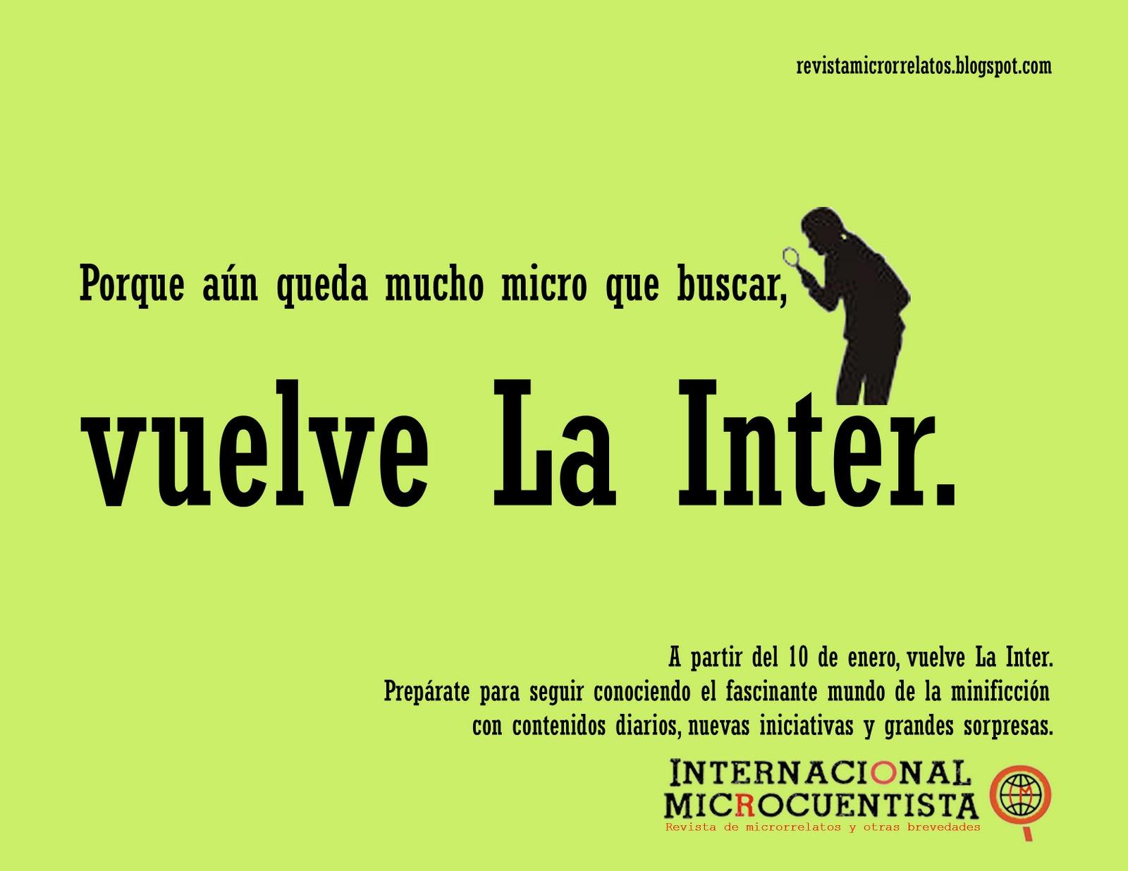 Internacional Microcuentista -: enero 2011