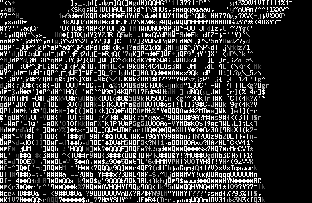 The form of this piece would be word art. The artist does an