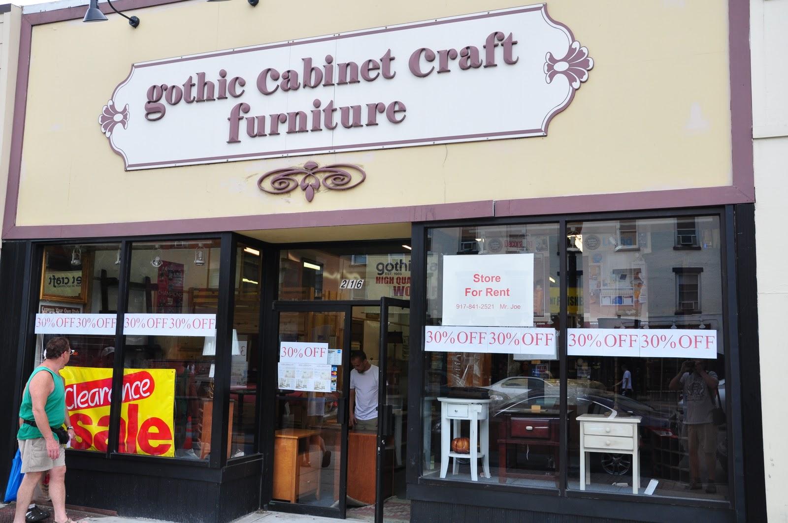 The Hoboken Journal Das Ist Kaput Gothic Cabinet Craft