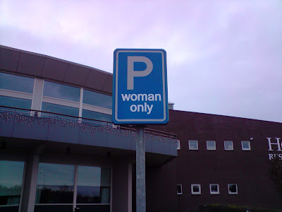 Woman Only parking lot