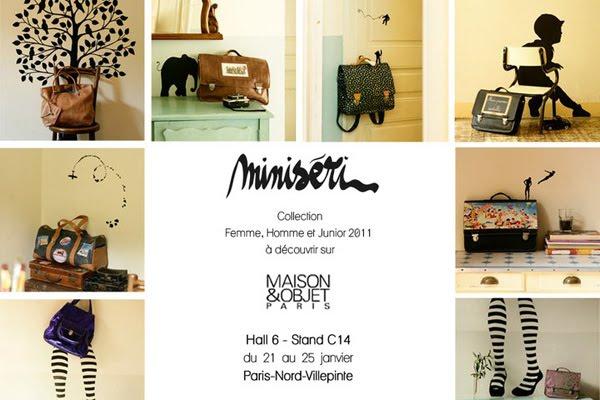 Le blog de minis ri minis ri au salon maison et objet de paris janvier 2011 - Salon maison et objets ...