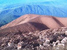 Landscape from Top Kerinci Mountain