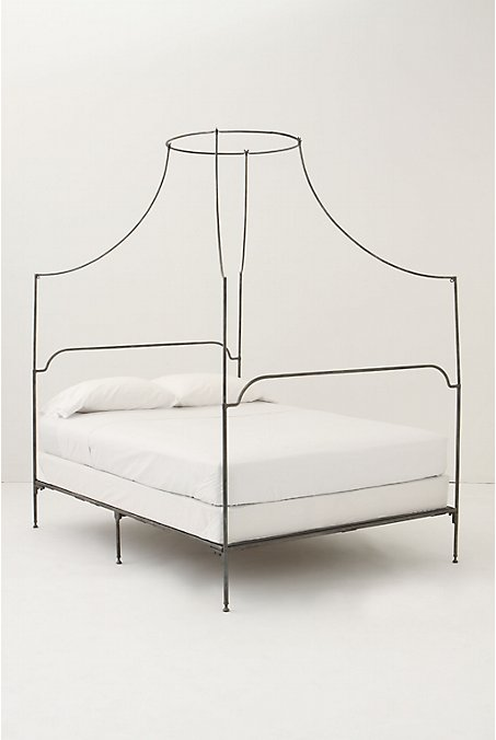 Wrought iron bed frame from Anthropologie